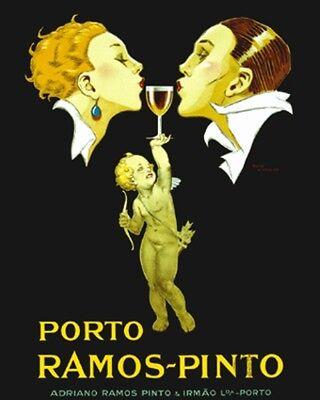 Cinzano Vermouth Food Wine Art Ad Poster 16X20  ETP009C