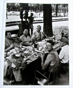 Robert-Doisneau-Photo-Print-of-Men-at-Lunch-at-Champs-Elysees-1959