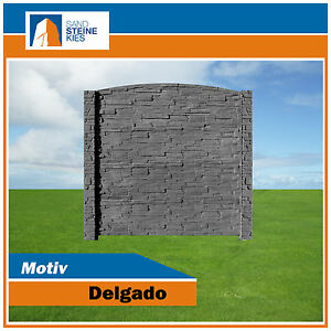Dekorativer Gartenzaun Motiv Delgado 043 Als Sichtschutz Zaun