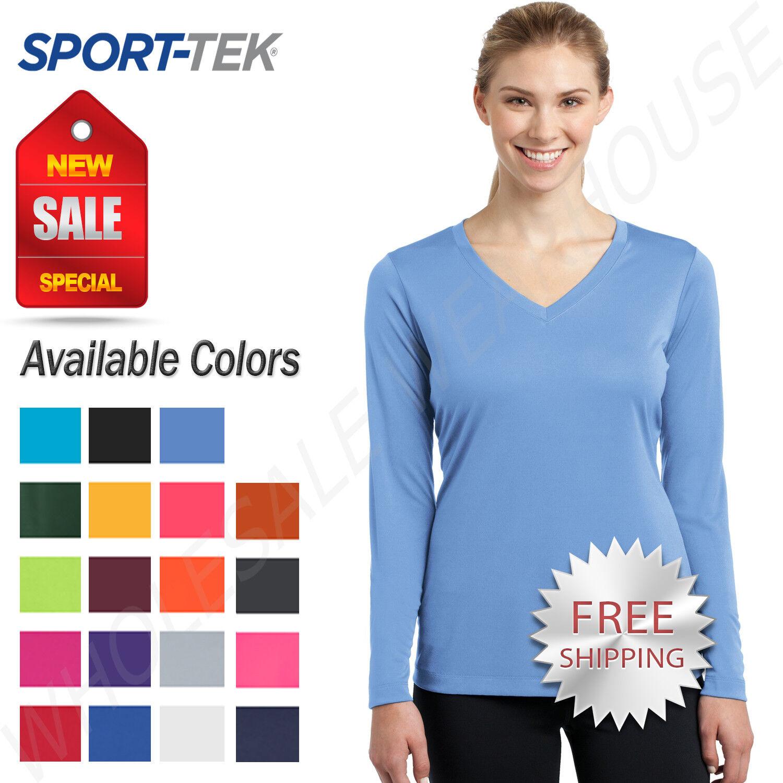 Sport Tek Lst353 Ladies Posicharge Competitor V Neck Tee Carolina Blue 4xl For Sale Online Ebay Vielseitigkeit für sport und freizeit. sport tek womens long sleeve dri fit posicharge workout xs 4xl t shirt lst353ls