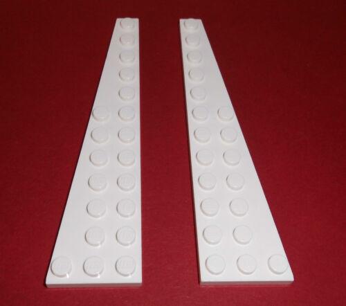 1x R. +1x L. 47397//47398 2 ailes plaques 3x12 blanc de 8088 7198 7747 LEGO