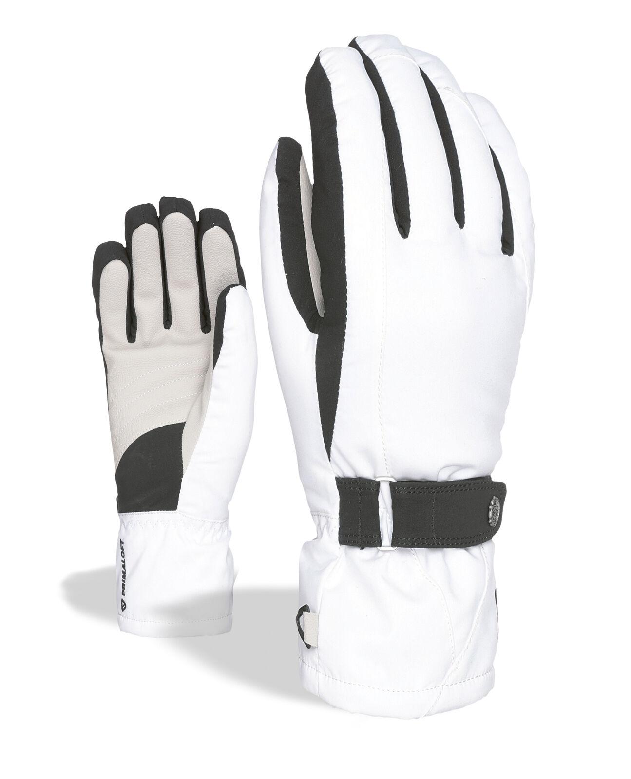 Level Handschuh Hero W Weiß wasserdicht atmungsaktiv wärmend