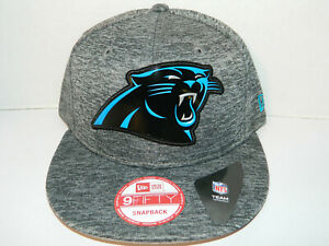 a455d3cd2 Carolina Panthers NFL New Era 9fifty Snapback Hat grey 1 Size Cap ...