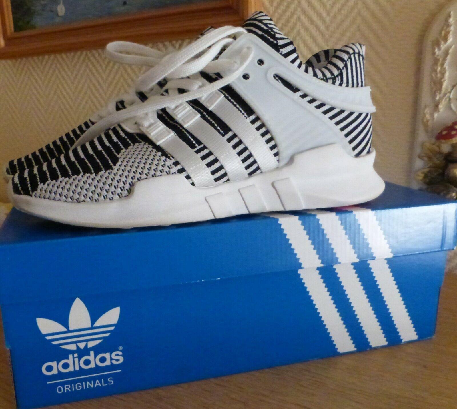 Adidas U EQT SUPPORT ADV PK Weiß Turbo Schuhe Turnschuhe Gr 40 UK 6,5 weiß schwarz