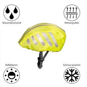 Universelle wasserdichte Fahrradhelm Regenhülle Reflektierende Regenhülle