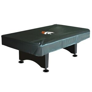 Nfl Denver Broncos 8 Ft Fitted Leatherette Pool Table Cover W Free Shipping Ebay