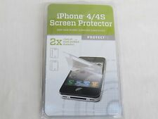 PROTECT IT for iPhone 4 4S Screen Protector Anti-Scratch Front Back 2X for Apple