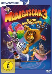 DVD * MADAGASCAR 3 - FLUCHT DURCH EUROPA # NEU OVP +