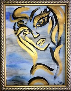 Margarita Bonke Malerei PAINTING art Bild erotica erotika akt abstract acryl