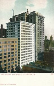 PITTSBURGH-PA-Frick-Building-and-Annex-Pittsburg-udb-pre-1908