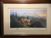 A Cultural Exchange RCMP James Lumbers Signed /& Numbered Limited Edition