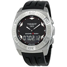 TISSOT RACING-TOUCH CHRONOGRAPH RUBBER STRAP MEN'S WATCH T002.520.17.051.00 NEW