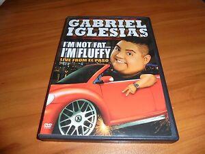 Gabriel Iglesias Im Not Fat Im Fluffy Dvd 2009 Used Stand Up