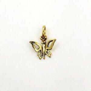 Vintage-Schmetterling-Anhaenger-aus-8-kt-Gold