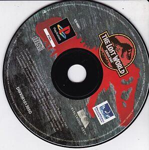 GIOCO-Sony-PlayStation-THE-LOST-WORLD-JURASSIC-PARK-PS1