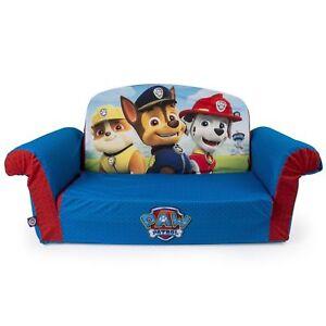 Marshmallow Furniture Childrenu0027s 2 In 1 Flip Open Foam Sofa Nickelodeon Paw  Patrol By Spin Master