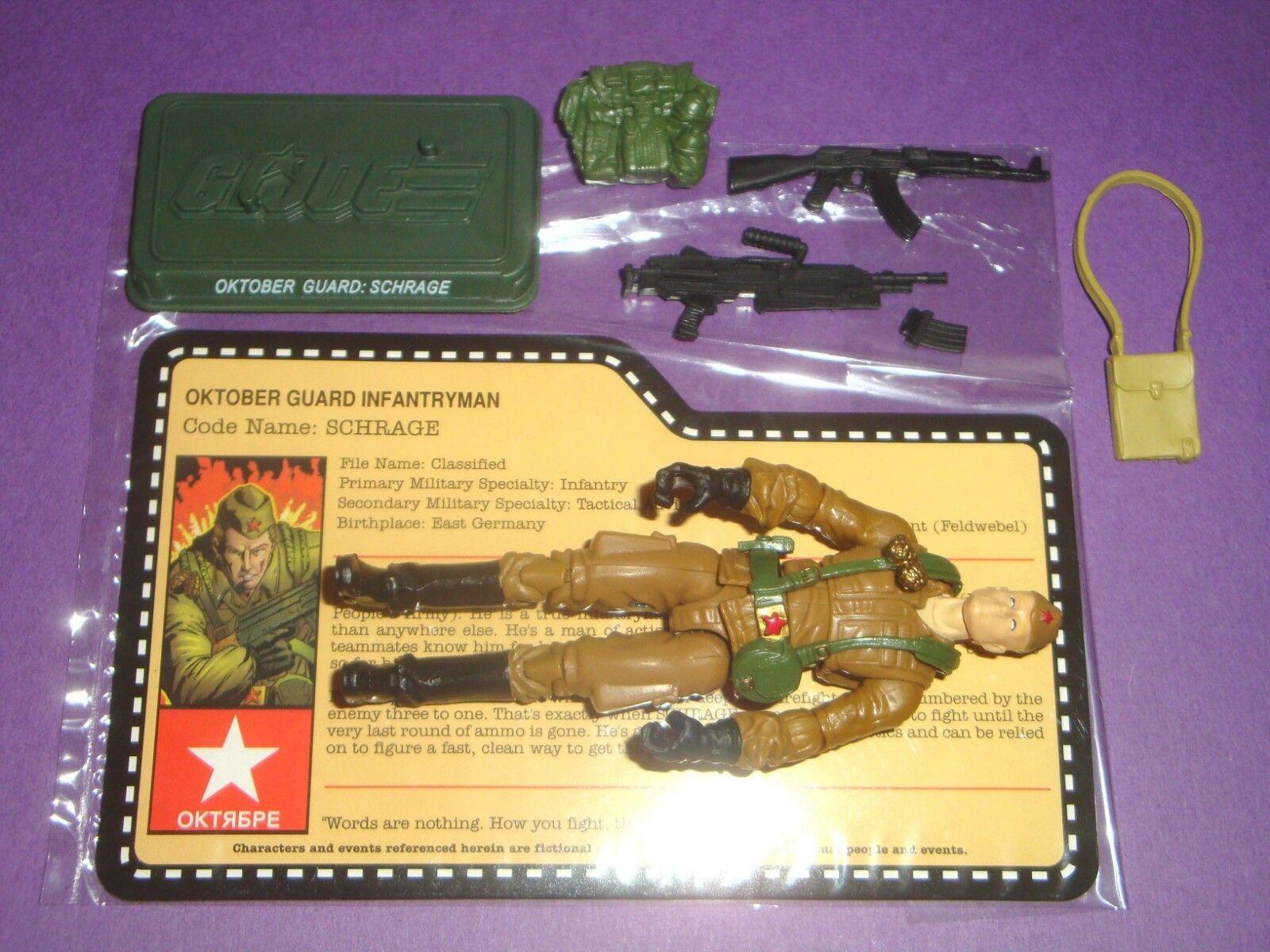 2012 Schrage - Oktober  Guard cifra - JOECON GIJOE - 100% completare  consegna veloce e spedizione gratuita per tutti gli ordini