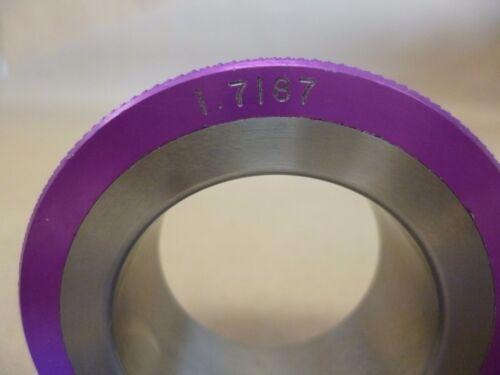 "2-3//4/"" X 1/"" 1-23//32/""  RING DIA RINGMASTER PURPLE MASTER SETTING RING 1.7187/"""