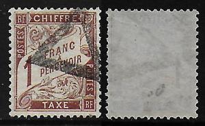France - Taxe - 25..oblitéré - C/110.eur - Tb