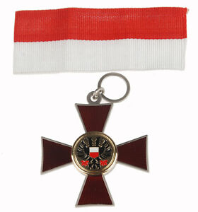 WWI-GERMAN-IRON-CROSS-LUBECK-CROSS-1914-MEDAL-BADGE-WITH-RIBBON-33940