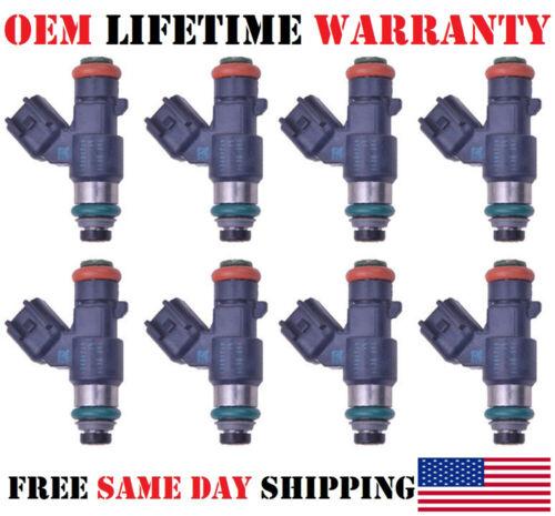 OEM Delphi Fuel Injectors for 2010-2011-2012-2013 GMC Sierra 6.2L V8 Set of 8