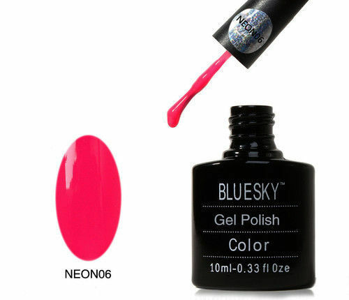 BLUESKY NEON 01-36 UV LED GEL NAIL POLISH EXTRA FREE DEAL WITH 5 BOTTLES NOW !!!
