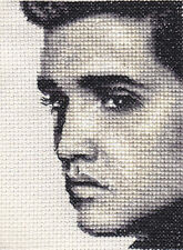 ELVIS PRESLEY ~ Full counted cross stitch kit