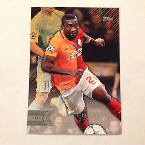 AURELIEN-CHEDJOU-71-Galatasaray-AS-2016-Topps-UEFA-Champions-5X7-GOLD-10-made