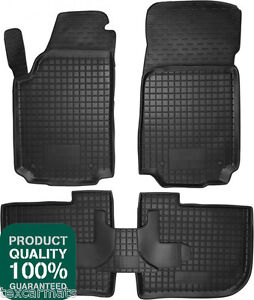 Rubber-Car-Floor-Mats-All-Weather-Fully-Tailored-fit-Audi-A6-C4-1994-1997