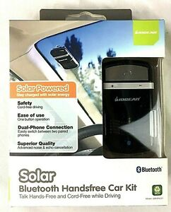 IOGEAR-Solar-Powered-Bluetooth-Handsfree-Speakerphone-Car-Kit-Model-GBHFK231