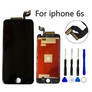 Para-Iphone-6s-Negro-Pantalla-LCD-Digitalizador-de-Tactil-Ensamblaje-Recambio