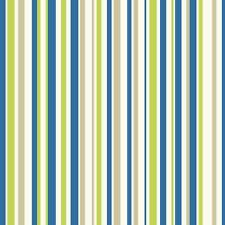 EARN YOUR STRIPES BLUE GREEN STRIPES NOVELTY QUALITY ARTHOUSE WALLPAPER 668700