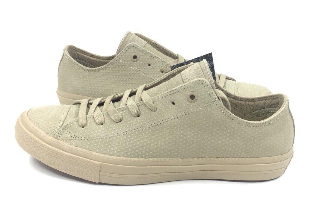 NEW Converse Chuck Taylor All Star Ox II 2 Size 11 Ox Star Vintage Khaki Shoes 155767C b78c56