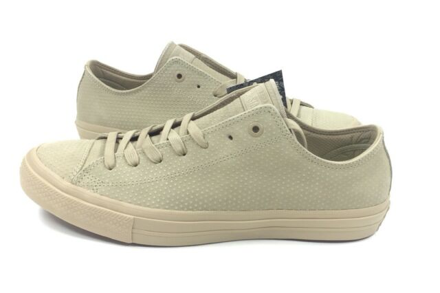 0f143059a174 NEW Converse Chuck Taylor All Star II 2 Size 11 Ox Vintage Khaki Shoes  155767C