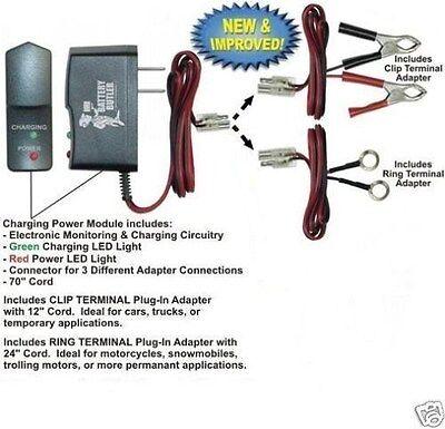 BATTERY BUTLER HARLEY DAVIDSON 12V Battery MAINTENANCE TENDER Storage Charger