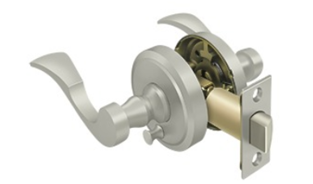 Port Royal Lacovia Solid Brass Privacy Lever Set in in in 4 Finishes by FPL 7fe787