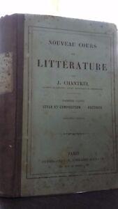Nuevo Curso Literatura J. Chantrel 1ERE Parte Skunk-Cadoo 1876 ABE