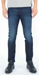 Wrangler-Herren-Jeans-Hose-Bryson-Fast-Royal-Marineblau-W28-W36
