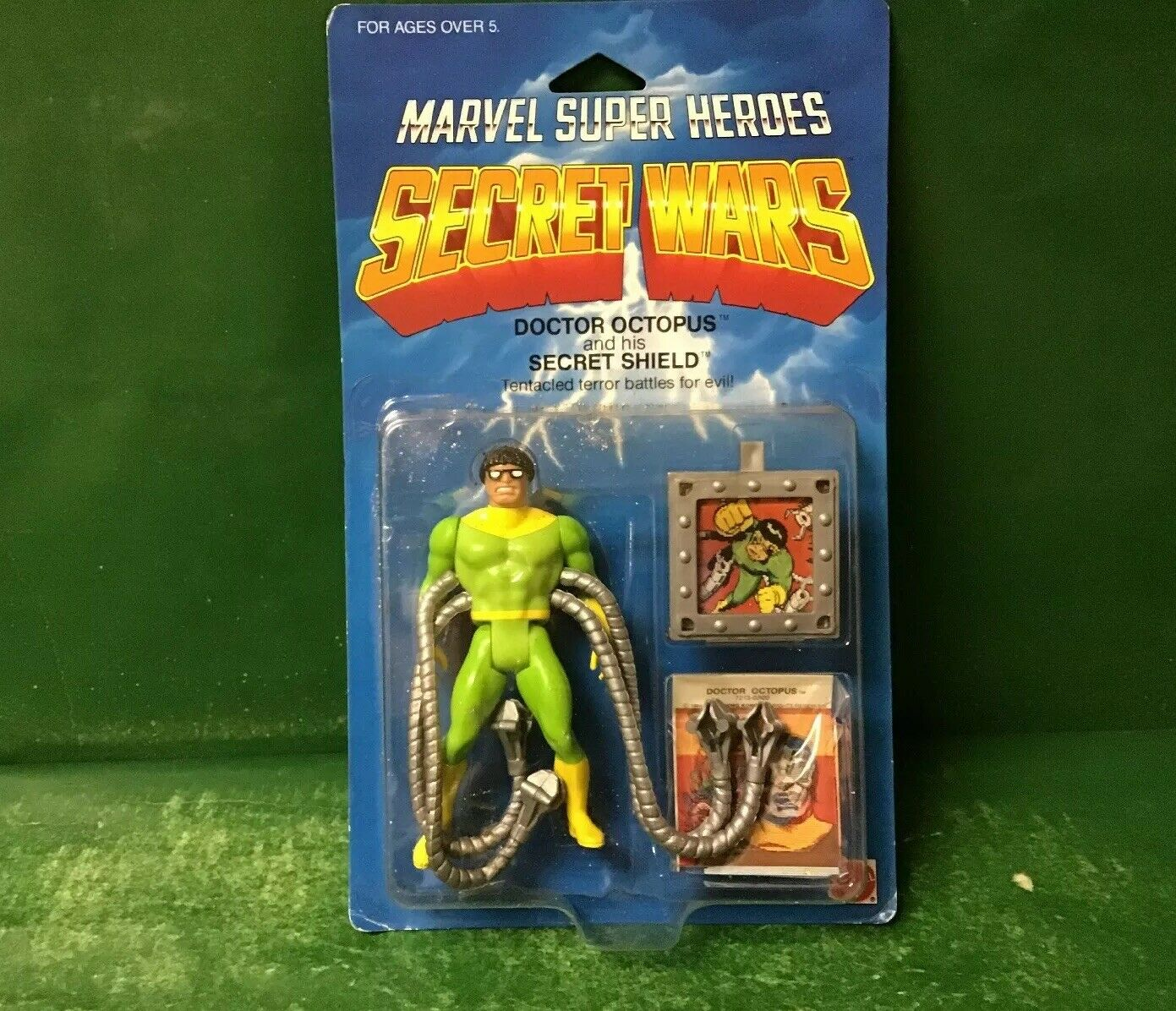 1984 Secret guerras  Doctor OCTOPUS NIC DA MATTEL