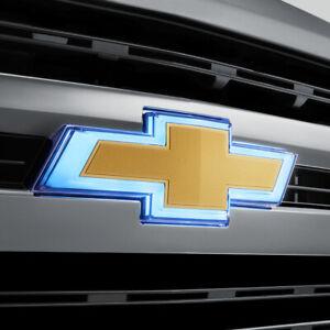 2019-2021 Chevrolet Silverado 1500 Illuminated Front ...