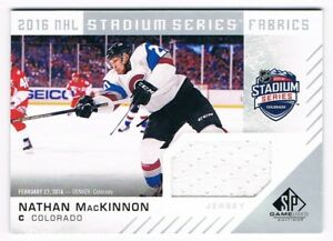 big sale d07cb bc92f Details about 2016-17 SP Game-Used Stadium Series Fabrics Jersey Nathan  MacKinnon Group A !!