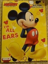 Disney Mickey Mouse Big Fun Book To Color I'm All Ears New