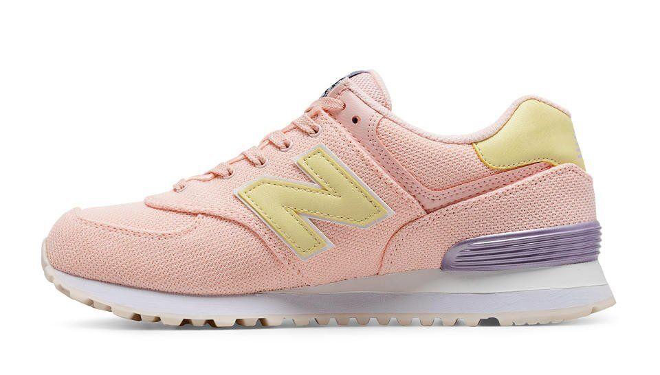 New New New Balance Damen Turnschuhe , WL574MIB , Korallenrot , EUR 36 , Neu in Karton 5f3bb3