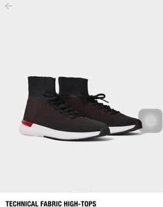 Zara Mens High Top Sneakers shoes Size