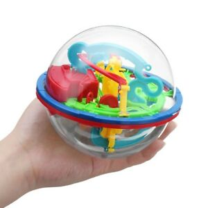 HFS-Magical-Intellect-Game-Maze-Puzzle-Ball-Kids-Tactile-Sensory-Fidget-Toy-New