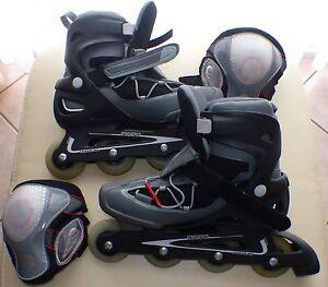 rollers-en-ligne-homme-pointure-44-genouilleres