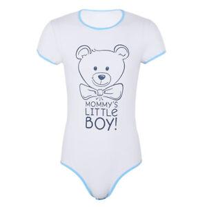 Herren-Strampler-Einteiler-Body-Stringbody-Unterhemd-Lustig-Pyjamas-Unterwaesche