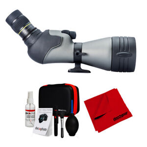 Vanguard Endeavor HD 82A Spotting Scope (3pc) w/ VEO 2 204AB Tripod&Cleaning Kit