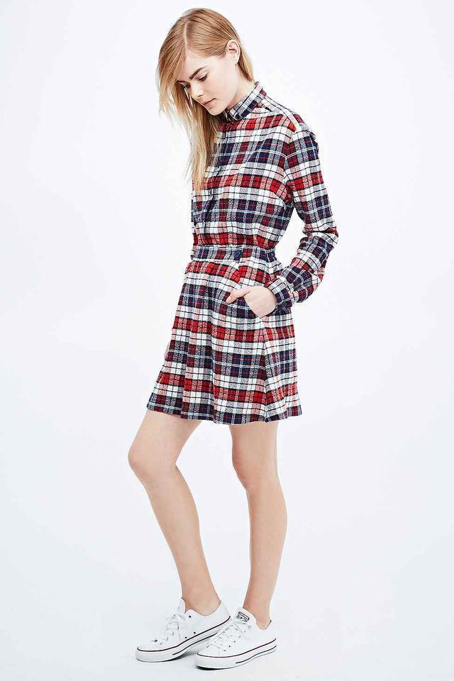 Splendid Libertine-Libertine Check Skirt Size S/M NEW! NP:135, -