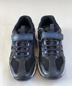 Geox Blue Glitter Trainers Size 2.5   eBay